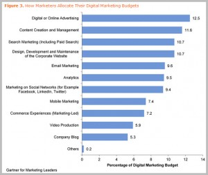 How Marketers Allocate Their Digital Marketing Budgets