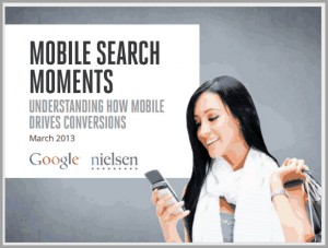 Mobile Search moments Study By Google & Nielsen