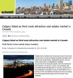 edmonton real estate market